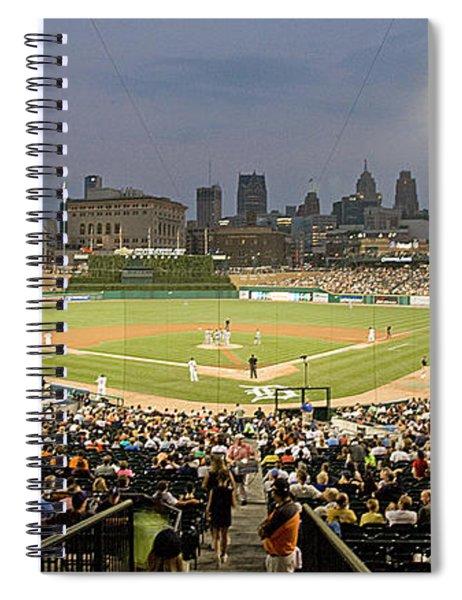 0555 Comerica Park Detroit Spiral Notebook