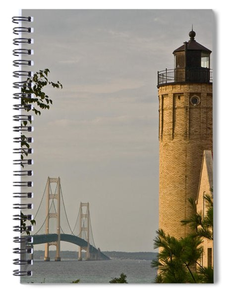 0558 Old Mackinac Point Lighthouse Spiral Notebook