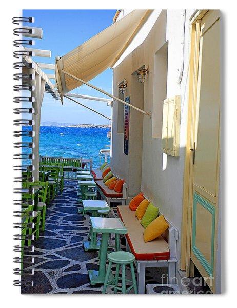 0560 Mykonos Greece Spiral Notebook