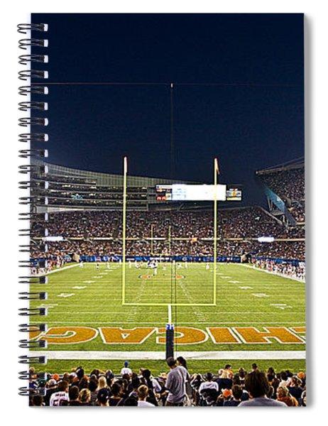0587 Soldier Field Chicago Spiral Notebook