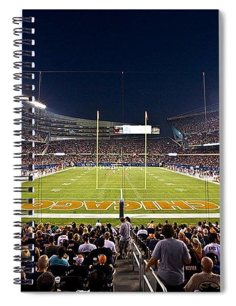 0588 Soldier Field Chicago Spiral Notebook