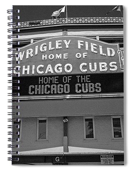 0600 Wrigley Field Spiral Notebook