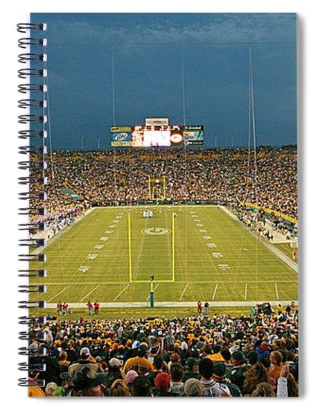 0614 Prime Time At Lambeau Field Spiral Notebook