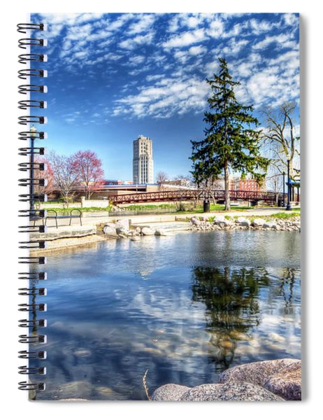 0663 Elgin From Walton Island Spiral Notebook