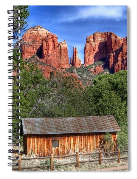 0682 Red Rock Crossing - Sedona Arizona Spiral Notebook