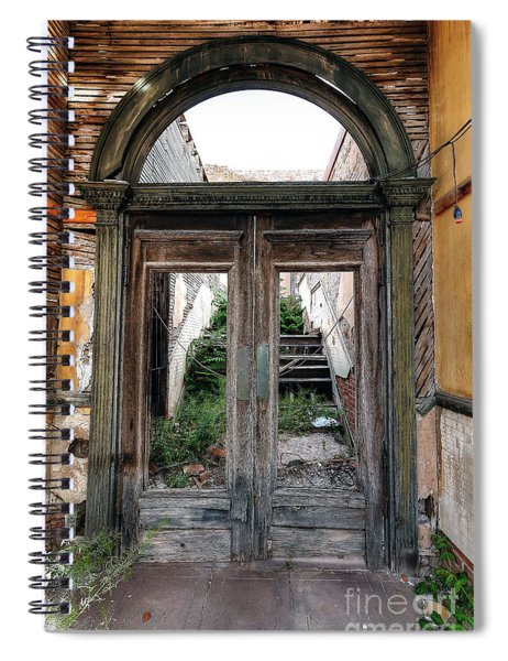 0707 Jerome Ghost Town Spiral Notebook
