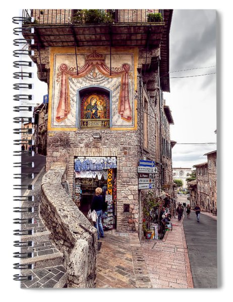 0801 Assisi Italy Spiral Notebook