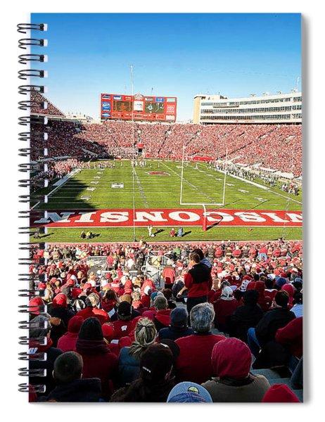 0814 Camp Randall Stadium Spiral Notebook