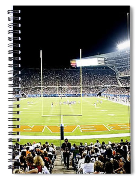 0856 Soldier Field Panoramic Spiral Notebook