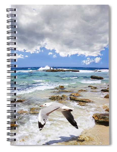 A Flight Of Hope Spiral Notebook