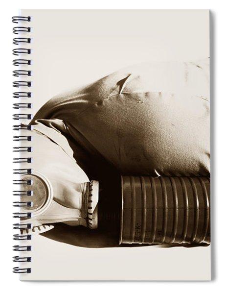 A Vintage Death Spiral Notebook