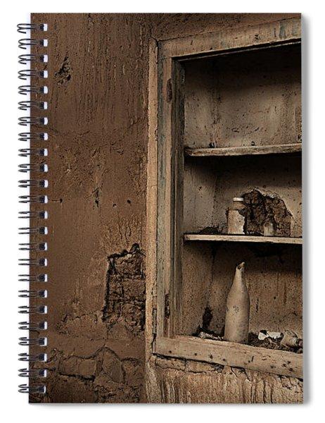 Abandoned Kitchen Cabinet Spiral Notebook
