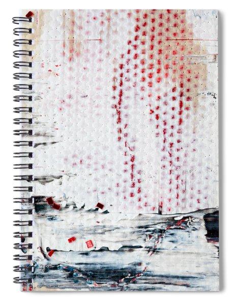 Abstract Original Artwork One Hundred Phoenixes Untitled Number Ten Spiral Notebook