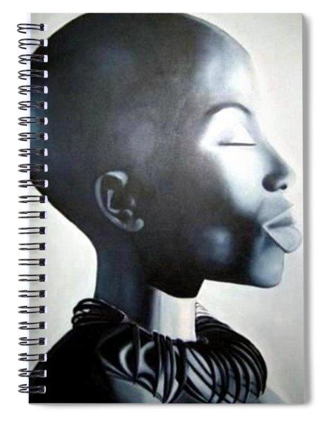 African Elegance - Original Artwork Spiral Notebook