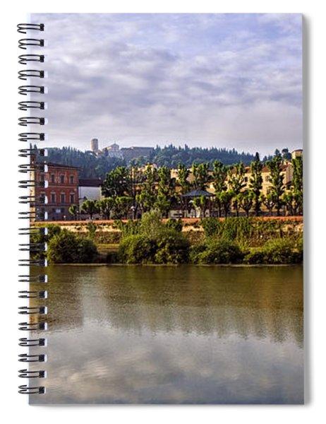 Along The Arno Spiral Notebook