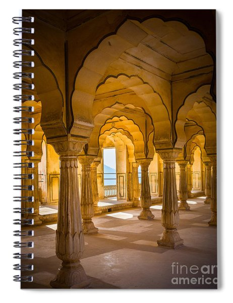 Amber Fort Arches Spiral Notebook