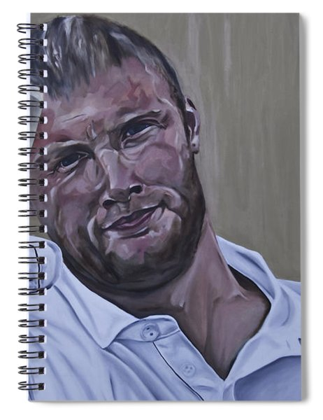 Andrew Flintoff Spiral Notebook