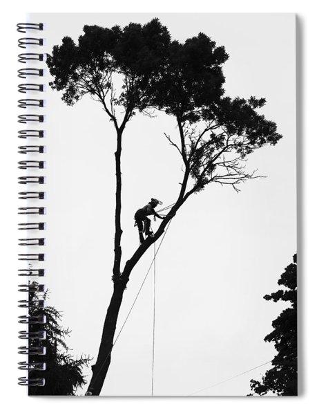 Arborist At Work Spiral Notebook