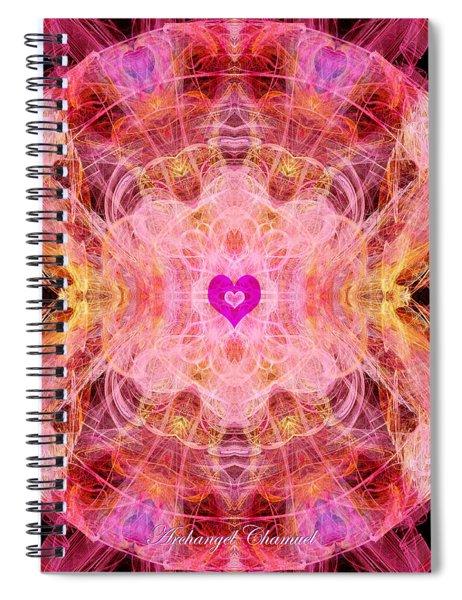 Archangel Chamuel Spiral Notebook