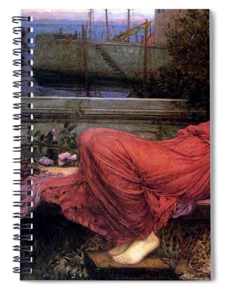 Ariadne Spiral Notebook