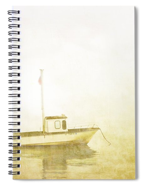 At Anchor Bar Harbor Maine Spiral Notebook