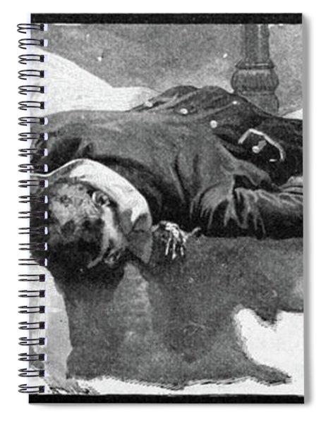 Battle Of Flamborough Head Spiral Notebook
