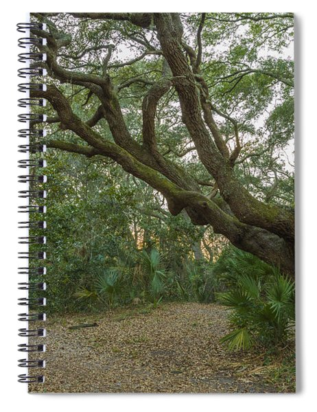 Behind The House Spiral Notebook