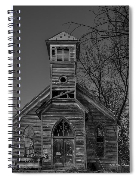 Spiral Notebook featuring the photograph Better Days by Edward Peterson