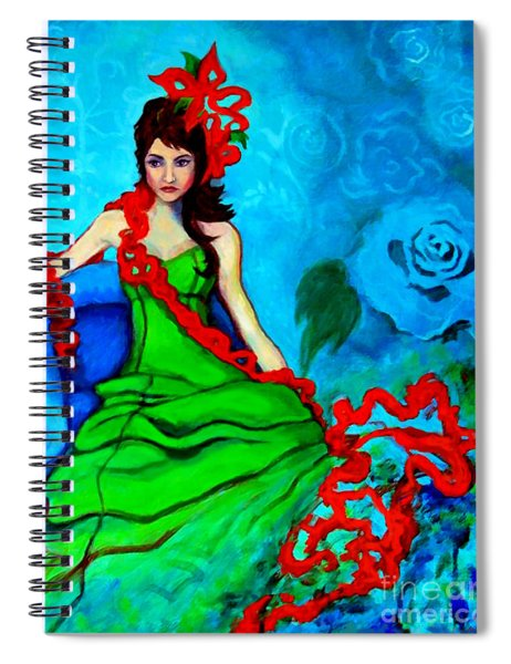 Blue Compliments Spiral Notebook
