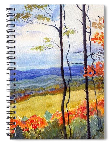 Blue Ridge Mountains Of West Virginia Spiral Notebook