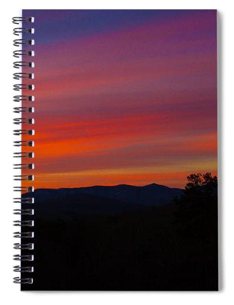 Blue Ridge Mountains Spiral Notebook by Robert L Jackson