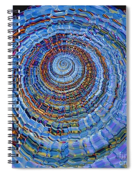 Blue World Spiral Notebook