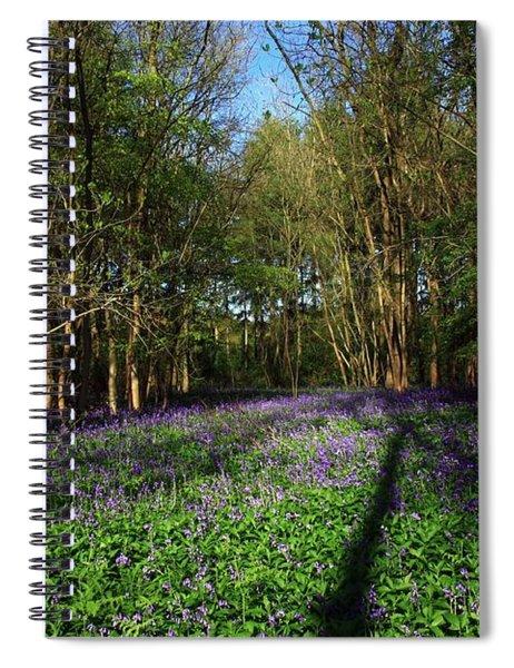 Bluebells Spiral Notebook
