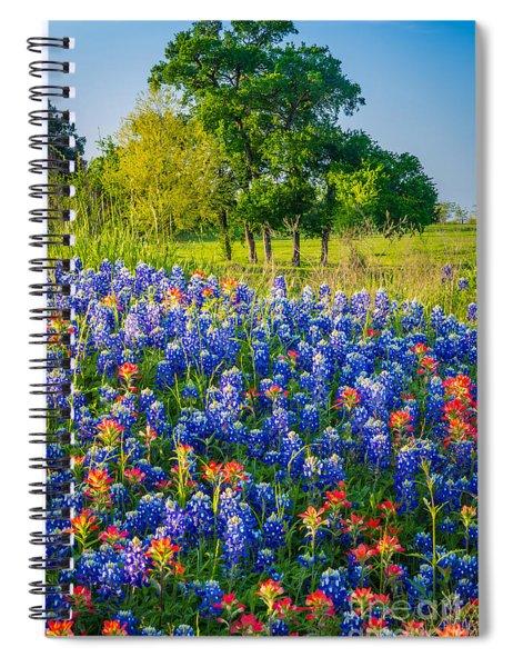 Bluebonnet Pasture Spiral Notebook