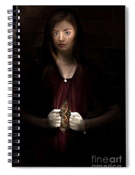 Body Clock Concept Spiral Notebook