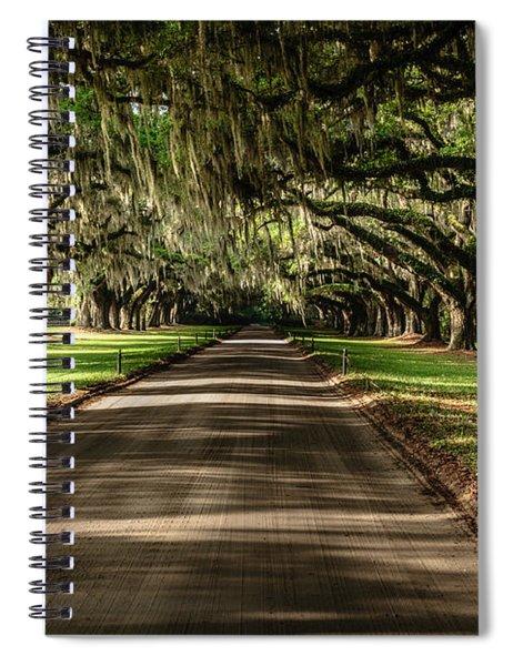 Boone Plantation Road Spiral Notebook