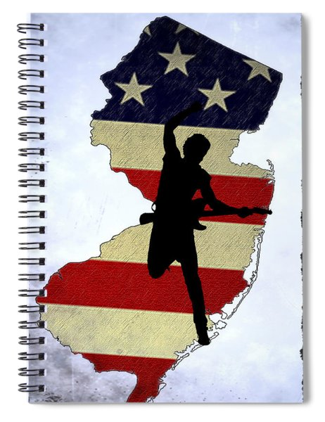 Born In New Jersey Spiral Notebook