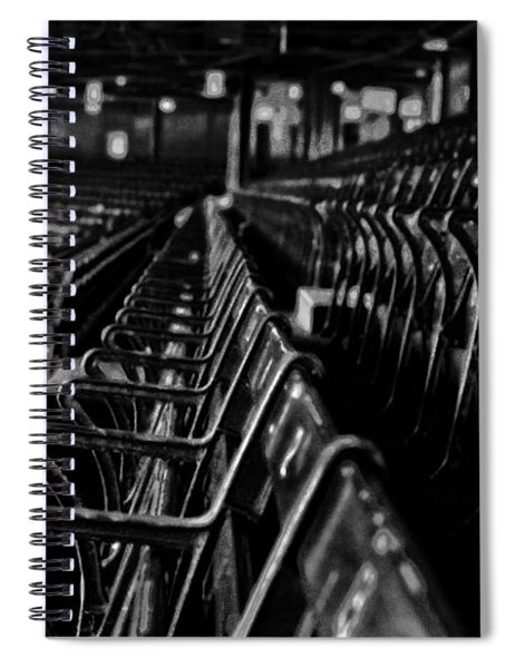Bostons Fenway Park Baseball Vintage Seats Spiral Notebook