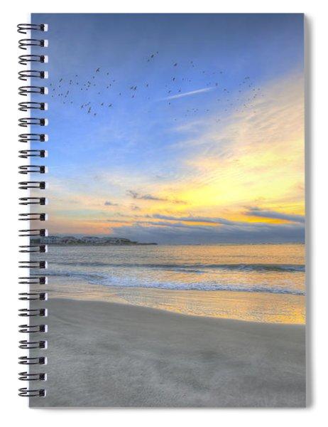 Breach Inlet Sunrise Spiral Notebook