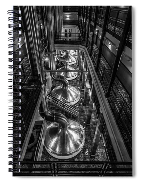 Brewing Up Trouble Spiral Notebook