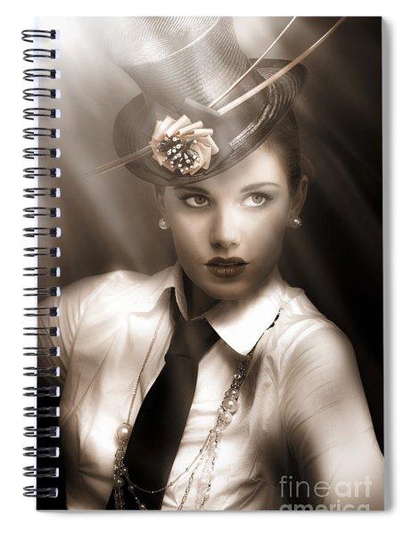 Bright Lights Of Broadway Spiral Notebook