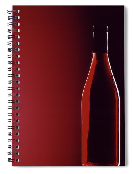 Burgundy Spiral Notebook