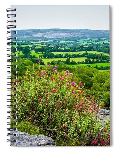 Burren National Park's Lovely Vistas Spiral Notebook