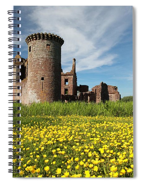 Caerlaverock Castle Spiral Notebook