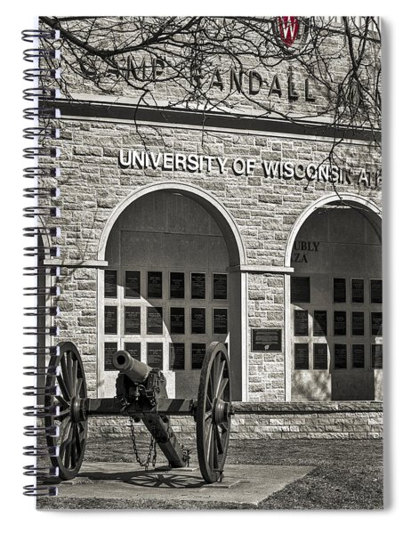 Camp Randall - Madison Spiral Notebook