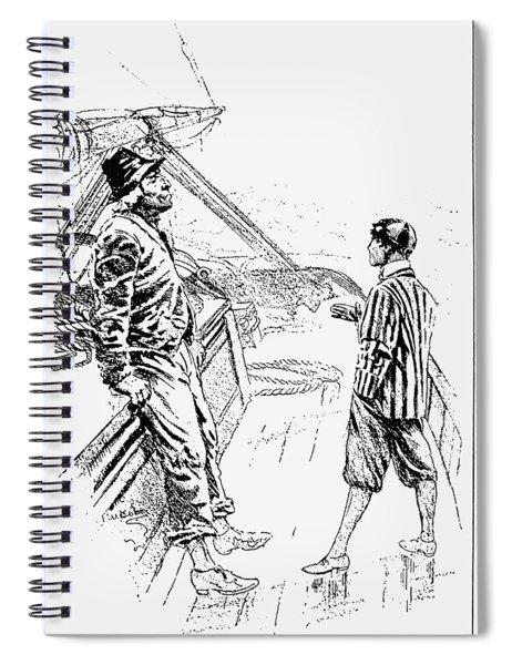Captains Courageous Spiral Notebook