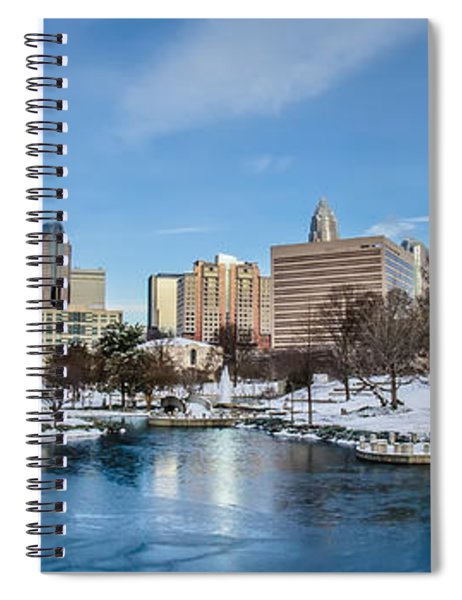 Charlotte Downtown Spiral Notebook