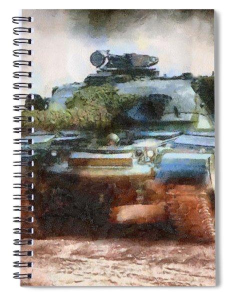 Chieftain Tank Spiral Notebook