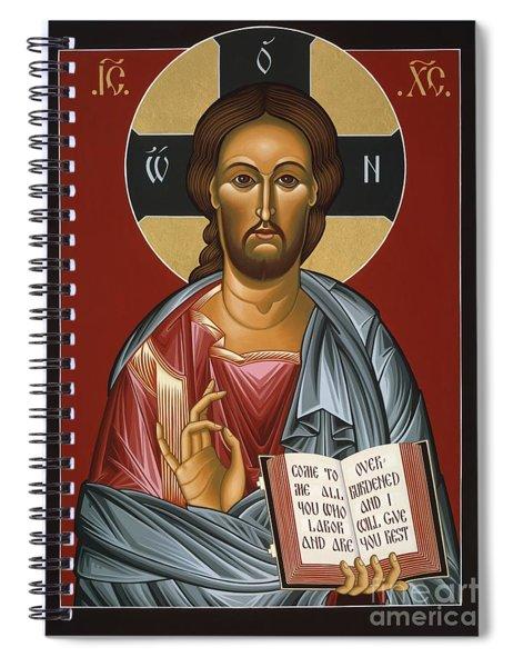 Christ All Merciful 022 Spiral Notebook