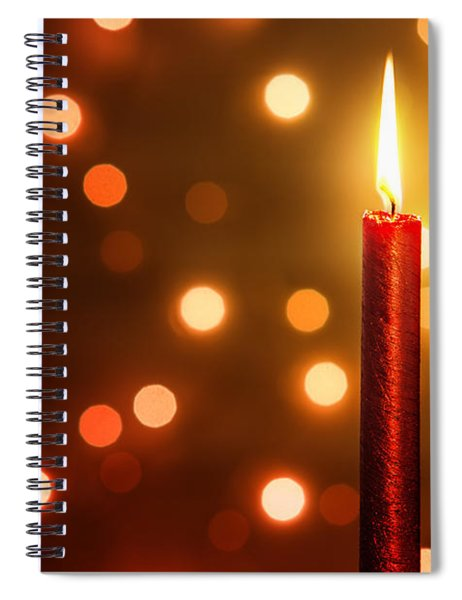 Christmas Ambiance Spiral Notebook